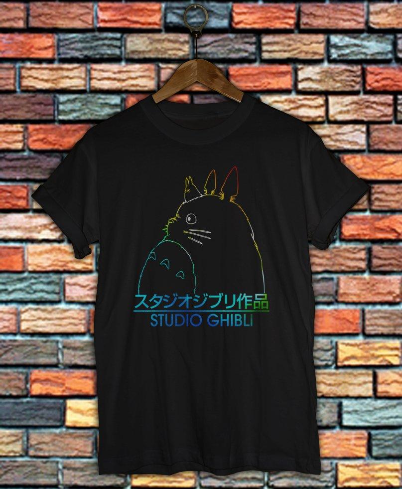 Studio Ghibli Shirt Women And Men Totoro Shirt SG05