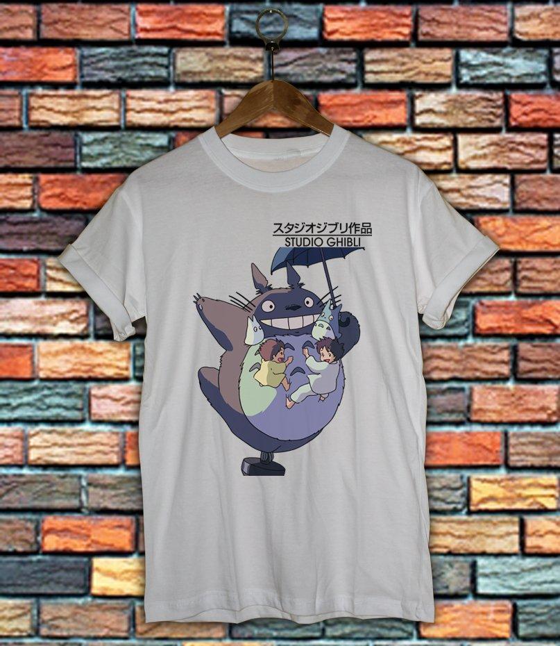 Studio Ghibli Shirt Women And Men Totoro Shirt SG07