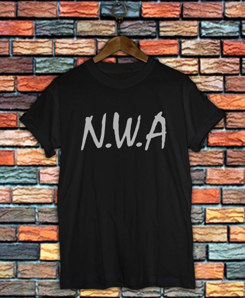 NWA Shirt Women And Men NWA Logo Shirt LNWA02
