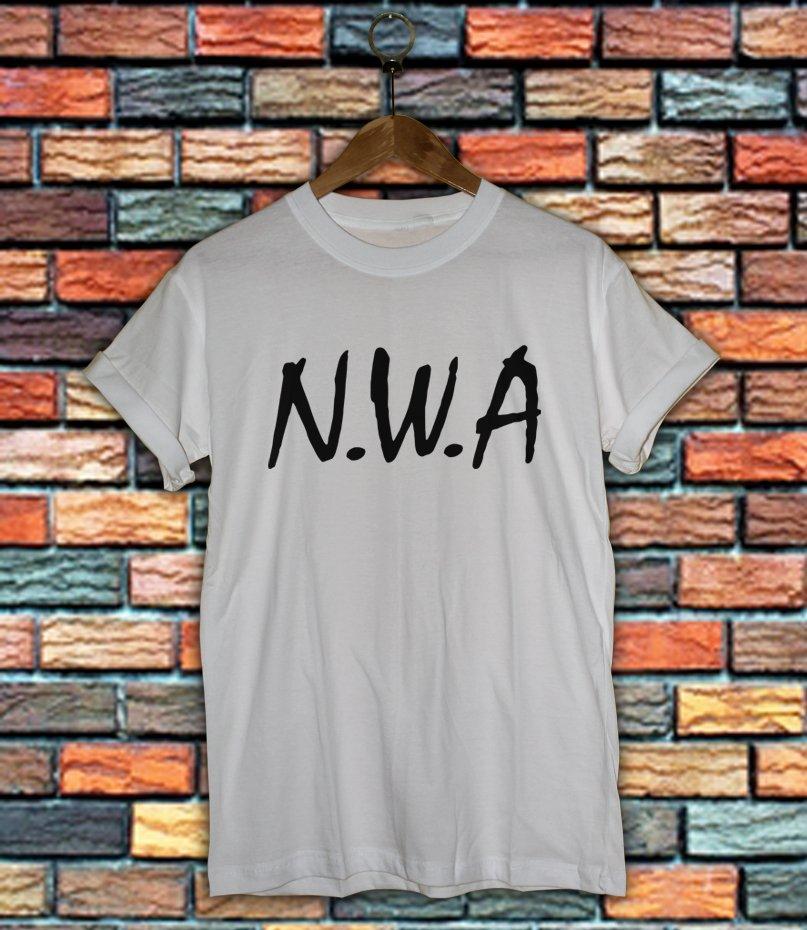 NWA Shirt Women And Men NWA Logo Shirt LNWA03
