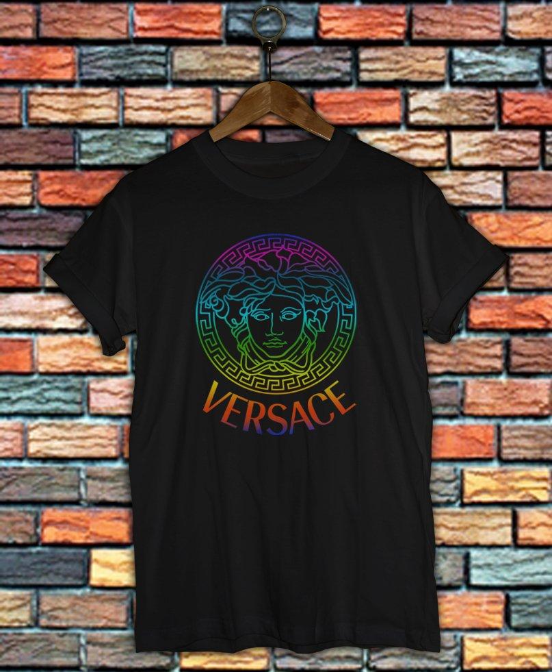 Versace Shirt Women And Men Versace Medusa Shirt VSC02