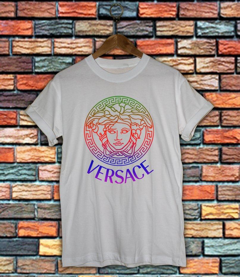 Versace Shirt Women And Men Versace Medusa Shirt VSC03