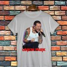 Chester Bennington RIP Linkin Park White T-Shirt Linkin Park T Shirt Tee Size S-2XLCB01