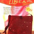 Linea Complete Kit 'Red Silk Purse' handbag DMC Creative World