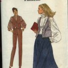 Vogue Sewing Pattern 7194 Misses Size 12 Easy Skirt Vest Pants