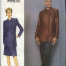 Vogue Woman Sewing Pattern 9775 Misses Size 6-10 Jacket Skirt Pants Suit