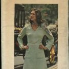 Butterick Sewing Pattern 3899 Women's Plus Size 24 ½ Knit Long Sleeve Dress