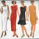 Butterick Sewing Pattern 3999 Misses Size 6-12 Easy Classic Straight Dress Top Skirts