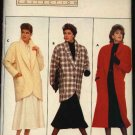 Retro Butterick Sewing Pattern 4039 Misses Size 6-14 Family Circle Long Short Coat