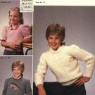 Finn time by Eila #13 Three Children's Knitted Sweaters Patterns