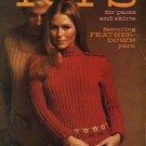 Columbia-Minerva #2533 Tops Misses Men's Knit Crochet Sweaters