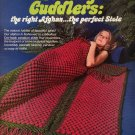 Luxury Cuddlers #7620 Cro-Hook Afghan Stole Boye Needle