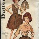 "Vintage Butterick Sewing Pattern 9841 B9841 Misses Size 12 Bust 32"" Used Blouse Skirt Vest Jumper"