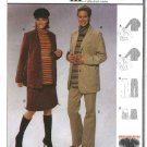 Burda Sewing Pattern 8447 Misses Size 10-20 Maternity Jacket Pants Skirt