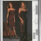 Burda Sewing Pattern 2590 Misses Size 8-20 Easy Formal Dress Gown Stole Evening