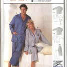 Burda Sewing Pattern 2691 Size 12-44 Men's & Misses Easy Pajamas