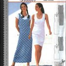 Burda Sewing Pattern 2996 Misses Size 8-18 Straight Dress Jumper