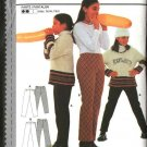Burda Sewing Pattern 3176 Girls Size 8-13jr Easy Fitted Knit Pants