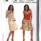Burda Sewing Pattern 8053 Misses Size 6-18 Skirts Jacket Camisole Top
