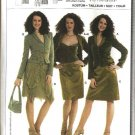 Burda Sewing Pattern 8131 Misses Size 8-18 Suit Jacket Camisole Skirt