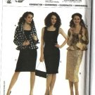 Burda Sewing Pattern 8133 Misses Size 10-22 Jacket Dress Yoke Skirt