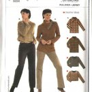Burda Sewing Pattern 8150 Misses Size 8-20 Easy Pullover Long Sleeve Knit Tops
