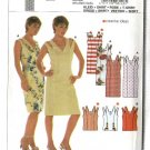 Burda Sewing Pattern 8228 Misses Size 6-18 Fitted Straight Dresses Blouses Tops