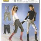 Burda Sewing Pattern 8251 Misses Size 8-20 Easy Pants Suspenders