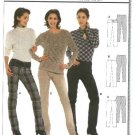 Burda Sewing Pattern 8284 Misses Size 8-20 Easy Fitted Straight Pants
