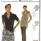 Burda Sewing Pattern 8287 Misses Size 10-24 Easy Fitted Blouse
