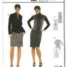 Burda Sewing Pattern 8302 Misses Size 10-22 Dress Short or Long Sleeves
