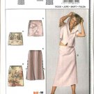 Burda Sewing Pattern 8344 Misses Size 10-24 Skirts - 5 Lengths/styles