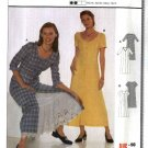 Burda Sewing Pattern 8506 Misses Size 12-24 Easy Button Front Dresses