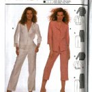Burda Sewing Pattern 8619 Misses Size 8-18 Easy Pantsuit Jacket Pants