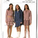 Burda Sewing Pattern 9722 Size 7-14jr Junior's Easy Yoke Skirts