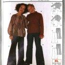 Burda Sewing Pattern 9821 Sz 7-12XL Girls Plus Blouse Top Pant