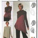 Burda Sewing Pattern 8708 Misses Sizes 10/12-22/24 Easy Top Tunic Shirt