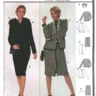 Burda Sewing Pattern 8714 Misses Sizes 10-20 Suit Jacket Skirt