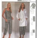 Burda Sewing Pattern 8791 Misses Sizes 10-20 Coordinates Jacket Top Pants
