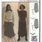Burda Sewing Pattern 8895 Misses Sizes 10-22 Easy Bias Skirt
