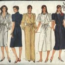 Vogue Sewing Pattern 1156 Misses Size 8-10-12 Classic Shirtwaist Button Front Dresses