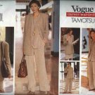 Vogue Sewing Pattern 1437 Misses Size 8-10-12 Tamotsu Career Wardrobe Jacket Vest Top Skirt Pants