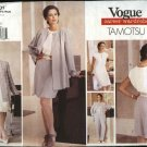 Vogue Sewing Pattern 1601 Misses Size 6-8-10 Tamotsu  Wardrobe Jacket Dress Top Shorts Pants