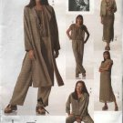 Vogue Sewing Pattern 2148 Misses Size 6-8-10 Easy ADRI Jacket Duster Slip Top Pants Dress