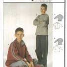 Burda Sewing Pattern 9763 Boys Size 11-16 Easy Jacket Sweatshirt