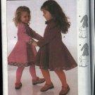 Burda Sewing Pattern 9971 Girls Size 18 months - 6 years Easy Dress