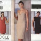 Vogue Sewing Pattern 2293 Misses size 18-20-22 Easy Isaac Mizrahi Three Dresses