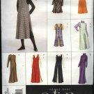 Vogue Sewing Pattern 2380 Misses Size 6-8-10 Easy Dress Jumper Overdress