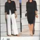 Vogue Sewing Pattern 2390 Misses size 6-8-10 Anne Klein Easy Skirt Jacket Pants