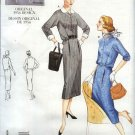 Vintage Vogue Sewing Pattern 2445 Misses size 6-8-10 1956 style Dress